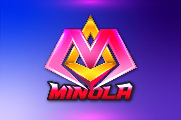 Письмо ma gaming логотип