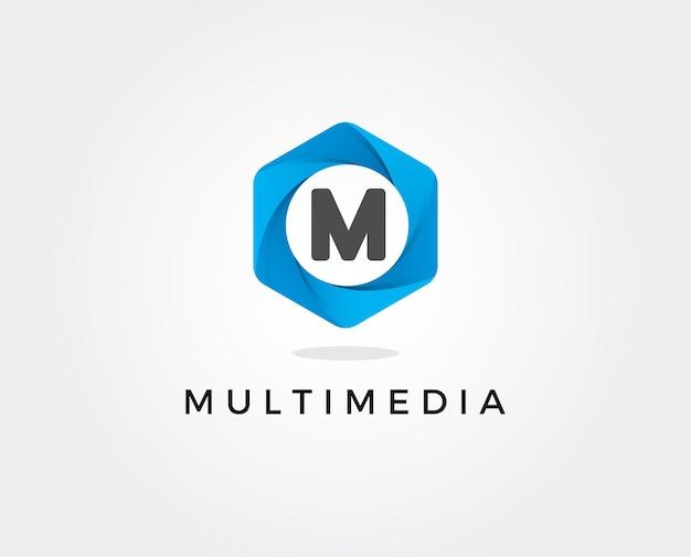 편지 m 라인 로고 디자인. 선형 크리에이티브 최소한의 흑백 모노그램 기호입니다.