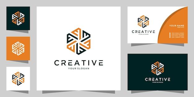 文字mまたはeクリエイティブロゴアイコンデザインテンプレート