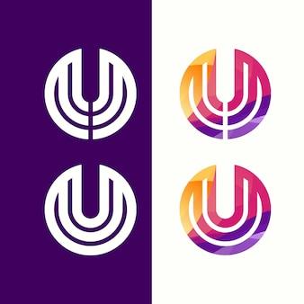 Letter mm logo