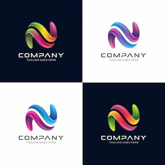 N Logo Design Download