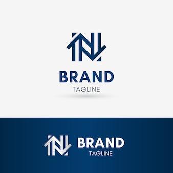Letter n home logo