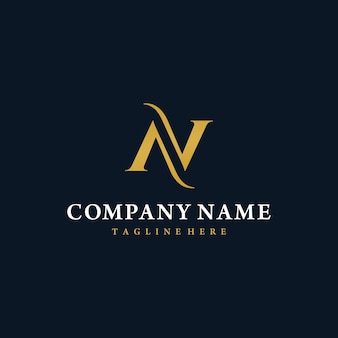 Letter n logo