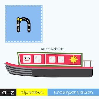 Letter n lowercase tracing transportations vocabulary