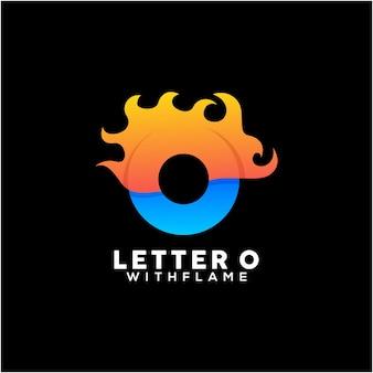 편지 o 다채로운 로고 디자인 서식 파일