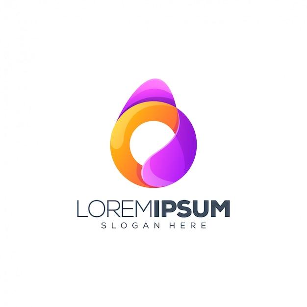 Letter o logo design