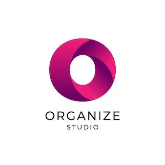 Letter o logo, logo template