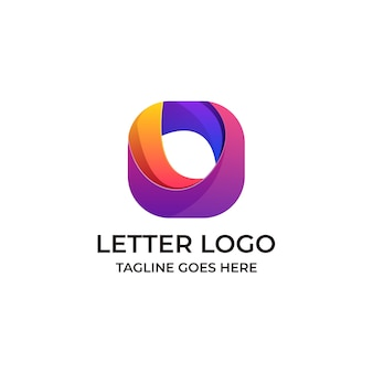 Letter o template