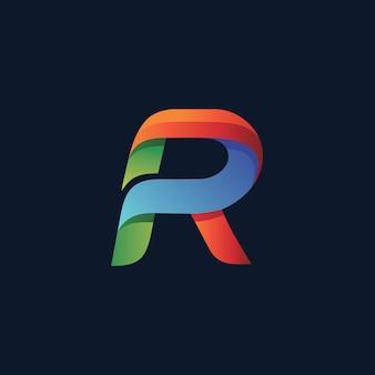 文字rロゴ