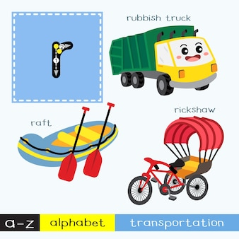 Letter r lowercase tracing transportations vocabulary