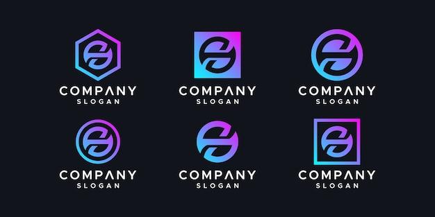 Letter s inspiring logo design