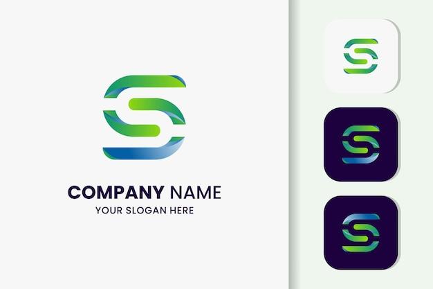 Letter s logo template