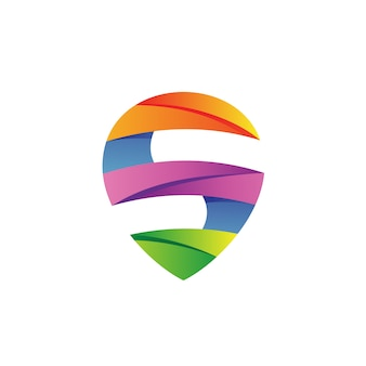 Letter s logo vector