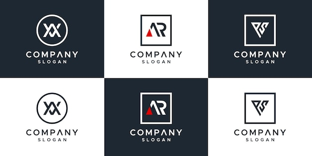 レターセットのロゴデザイン