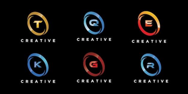 편지 세트 로고 디자인