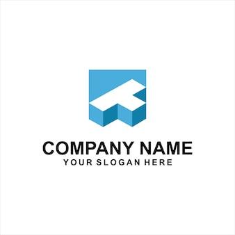 Дизайн логотипа t