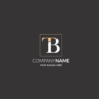 Letter tb logo