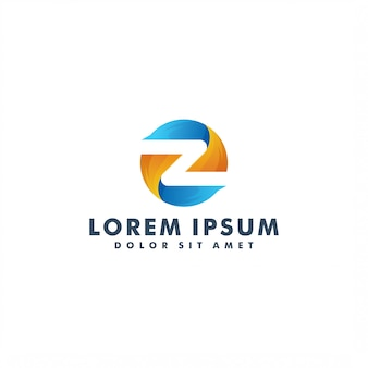 Буква z логотип