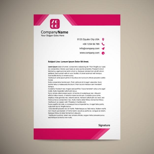 letterhead templates open office