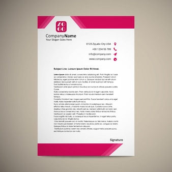 Letterhead vectors photos and psd files free download letterhead template design spiritdancerdesigns Images