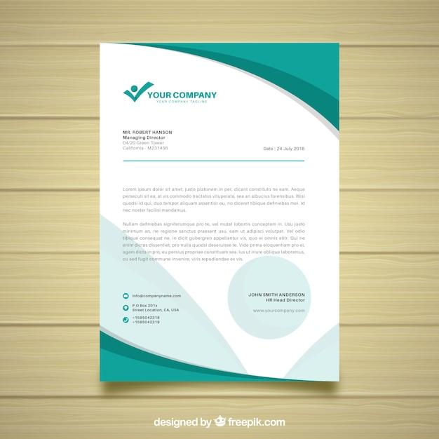 letterhead design free download