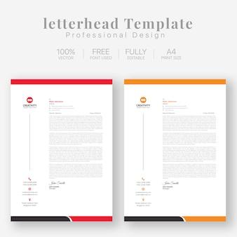 Letterhead templates