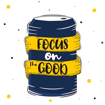 Lettering: focus on the good
