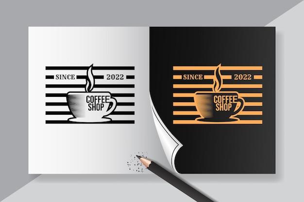 カフェのポスターのインスピレーションのためのコーヒーの引用のレタリング