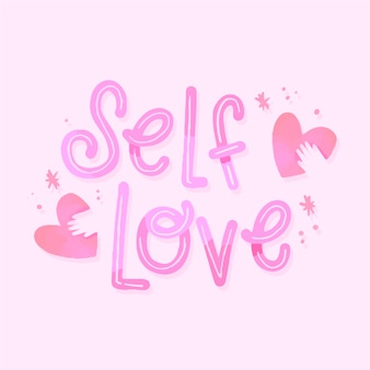 Lettering self love