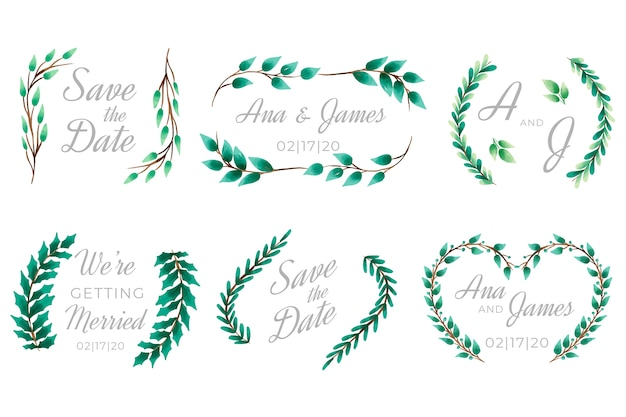 Lettering for wedding concept