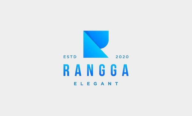 Lettermark r elegant logo design