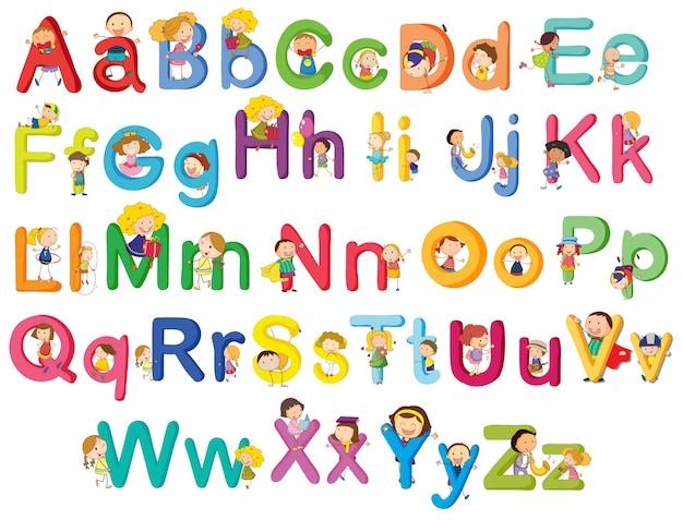 Письма алфавита