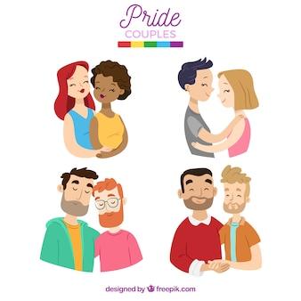 Коллекция пара гордости lgtb