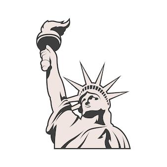 Liberty statue monument usa