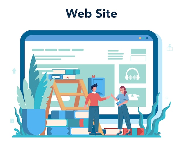 Онлайн-сервис или платформа библиотекаря. знания и образование