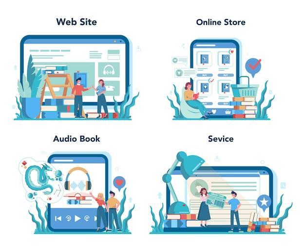 Набор онлайн-сервисов или платформ библиотекаря. знания и образование