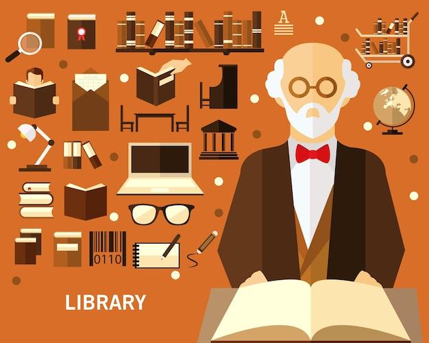 図書館のコンセプト背景