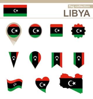 Коллекция флагов ливии, 12 версий