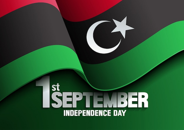 Libya flag independence day
