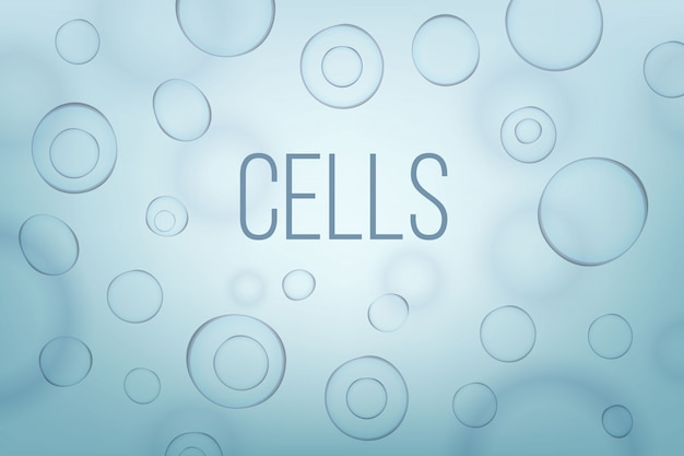 Life biology cell medicine scientific background.