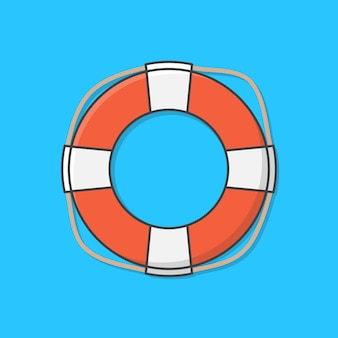 Life buoy for drowning rescue