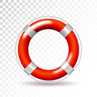 Life buoy vector illustration isolated