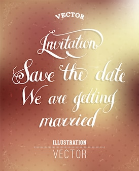 생활 글꼴 결혼식 글자 영감을
