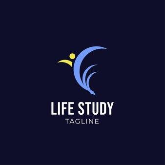 Life study logo modern