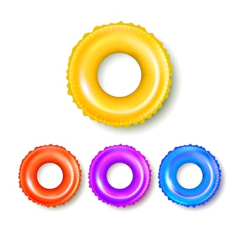 Lifebuoy equipment for swimming in pool set
