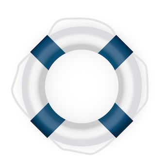 Lifebuoy icon. illustration