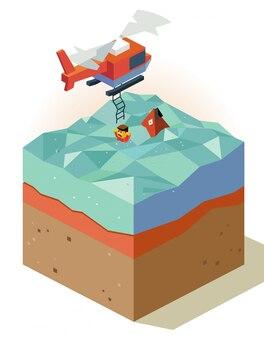 헬기와 생명 구조