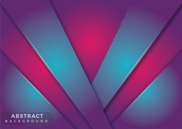 Light abstract geometric background