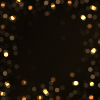 Light abstract glowing bokeh lights shining star sun particles and sparks with lens flare effect