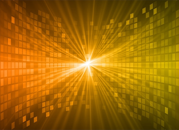 Light abstract technology background